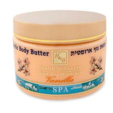 Aromatic Body Butter Vanilla H&B Dead Sea Minerals 350 Ml