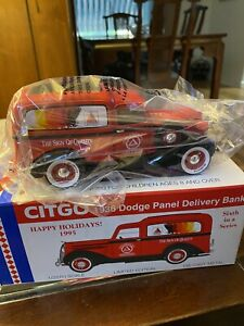 citgo 1936 dodge panel delivery band never removed from plastic spec cast 1/25th