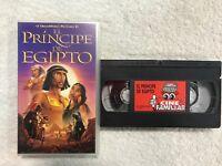 EL PRINCIPE DE EGIPTO 1998 VHS