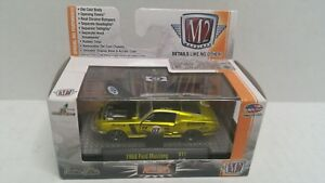 M2 Machines Auto-Mods 1968 Ford Mustang Gold 07 HTF
