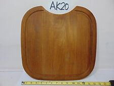 "Kohler Cutting Board for Sink Cover Counter Hardwood 15"" x 15"" Rounded  Edges"