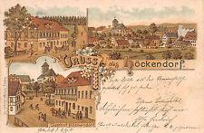 Saluti da Höckendorf Sassonia ospite CASA, RISTORANTE lito cartolina 1900
