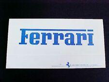 Ferrari Luigi Chinetti Sales Brochure 365 GTB4 246 Dino OEM