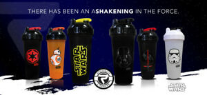 STAR WARS Performa Protein Drink Shaker with ACTIONROD, leak-free, shatter-proof