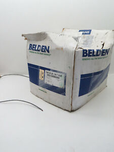 (500ft) Belden 5500FE 22-AWG 2-Conductor Foil Shield CMR Riser Security Cable