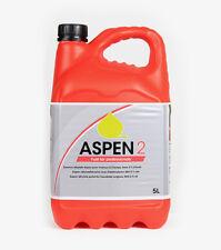 ASPEN 2 STROKE ALKYLATE PETROL / FUEL 5 LITRE FOR LAWNMOWERS  & GARDEN MACHINERY