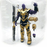 "NEW Thanos Armor Marvel Avengers Legends Comic Heroes 8"" Action Figure Kids Toys"