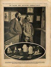 Salon Artistes Combattants Mourmelon-le-Petit Marne Albert Dalimier 1915 WWI