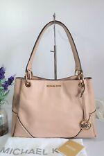"MICHAEL KORS ""Nicole"" Shoulder Bag Large Ballet Pink Leather ~ Dust Bag ~ Ex Con"