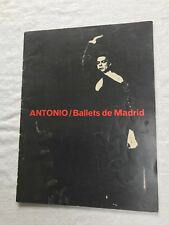 Antonio / Ballets de Madrid Program 1965