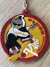 Skateboarding Rubber Plugg Equipment Advertising Keychain Skateboard