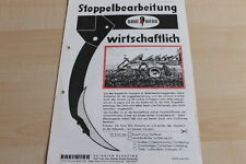 144658) rabewerk stoppelbearbeitung incl. Gimpel e 60 65 W folleto 06/1972
