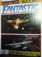 """FANTASTIC FILMS, February 1980, Collector's Edition """"Star Trek and Black Hole"""""""