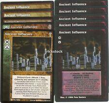Ancient Influence x10 LoB CE SW VTES Jyhad