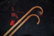 COMBAT CANE- SELF DEFENSE- MARTIAL ARTS- CUSTOM OAK CANES- USA-  SET OF 2-