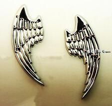 UNIVERSAL 3D ANGEL WINGS EMBLEM LOGO BADGE DECAL