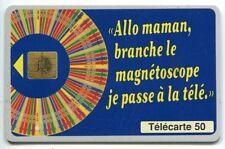 TELECARTE 50  JEUX  MILLIONNAIRE
