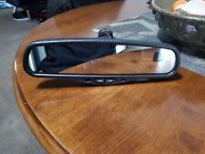 Silverado Tahoe Rear View Mirror Compass Temp Auto Dim Rearview OEM GNTX 177