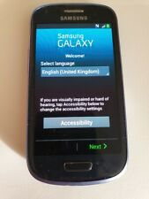Samsung Galaxy S III Mini I8200n - 8GB - Pebble Blue (Locked O2) Smartphone