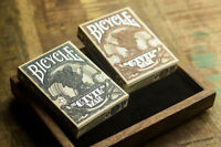 Set of 2 Bicycle Civil War Playing Card Decks - Limited Edition Set New