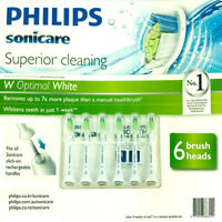 Philips Sonicare Diamond Clean Replacement Electric Toothbrush Heads 6Pack