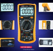 VICTOR VC890C+ Display Multi-Tester Digital Multimeter AC DC Volt Ohm Ammeter