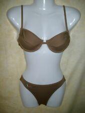 Bikini marrón con perchas talla 36 C-productos nuevos