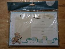 """New! """"Welcome Little One"""" birth announcements. Two packs of 8 plus attachments."""
