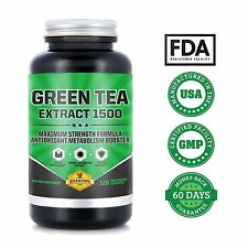 Green Tea Leaf Extract 735mg Per Serving With EGCG | Highest Potency Green Tea