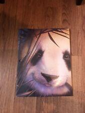 vintage school folder Panda 1996 Zoosters