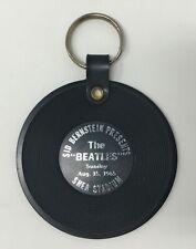 "1965 Sid Bernstein Presents The Beatles at Shea Stadium 3"" Record Keychain Album"