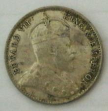 Straits Settlements King Edward VII 5 Cents 1903  GVF