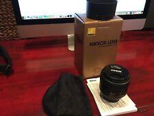 Nikon NIKKOR 85mm f/1.8 SWM AF-S IF SIC G M/A Lens