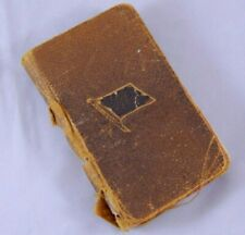 Antique Soldiers New Testament Pocket Bible Flag on Cover Thomas Nelson 1901