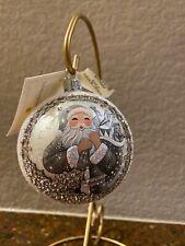 Patricia Breen Grande Orb Winter Claus Ornament Nwt Bergdorf Goodman Exclusive