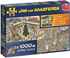 JUMBO 19098 Jan van Haasteren Weihnachtseinkauf 2 x 1000 Teile