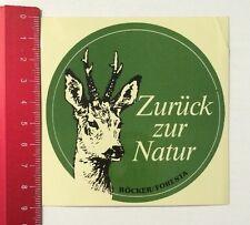 Aufkleber/Sticker: Zurück Zur Natur - Böcker/Foresta (22041670)
