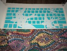 """Teal Doves Keyboard Cover Skin for MacBook Air Pro Retina 13""""- 15"""""""