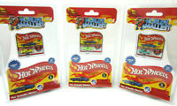 (SET OF 3) World's Smallest Hot Wheels Series 4 By Mattel Twinduction, Turbofire