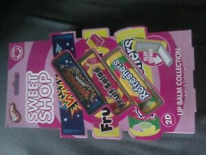 Just Balmy Lip Balm 2D Sweet Shop Collection
