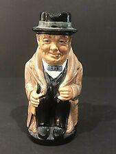 "Royal Doulton 'Winston Churchill' D6172 1941 Medium Toby Character Jug - 5.5"""