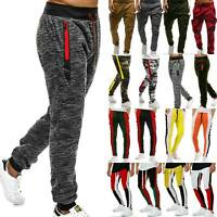 Mens Sport Trousers Casual Jogger Bottoms Sweater Jogging Pants Running Gym Wear