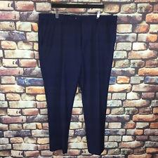 Men's John Lewis Pure Wool Mélange Blue Suit Trousers BNWT 42L RRP £80