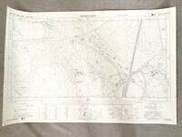 Vintage Map of Surrey Bagshot Park Hall Grove Farm 1960s Original