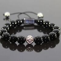 Shamballa Armband Armreifen Bracelet Biker Perlenarmband Kugelarmband