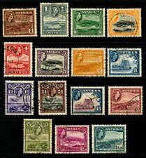 ANTIGUA - 1953 QEII Set to $4.80 'SLATE-BLUE' VFU SG120a-134 Cv £50 [B0921]