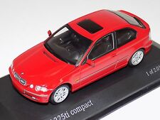 1/43 Minichamps BMW 3-series Compact  from 2000 in Red