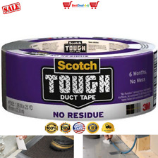 New listing Scotch Tough Duct Tape, No Residue, 1.88-Inch by 25-Yard Waterproof long-lasting