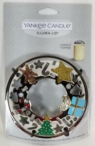Yankee Candle ILLUMA LID Illumalid MODERN ART DECO Christmas Gifts Tree Star