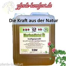Mariendistel Öl, Kaltgepresst, Zum Schutz der Leber! 5L.